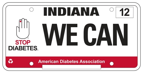 Indiana Diabetes Sign