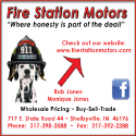 Fire Station Motors Ad