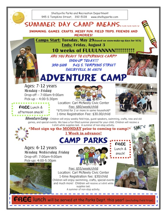 day camp page