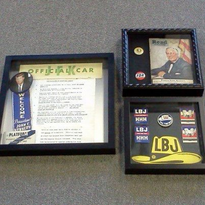 democrat memorabilia auction