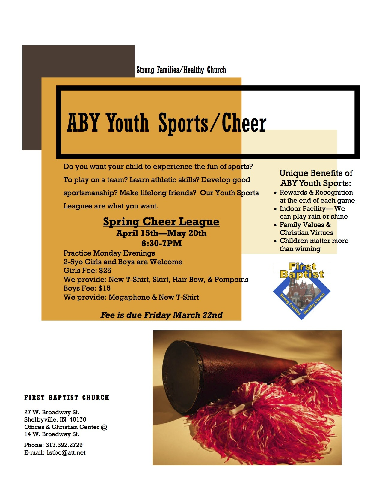 ABY Youth Sports/Cheer