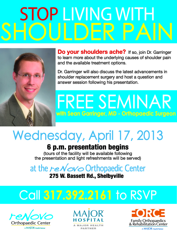 Dr. garringer shoulder Seminar 4-13