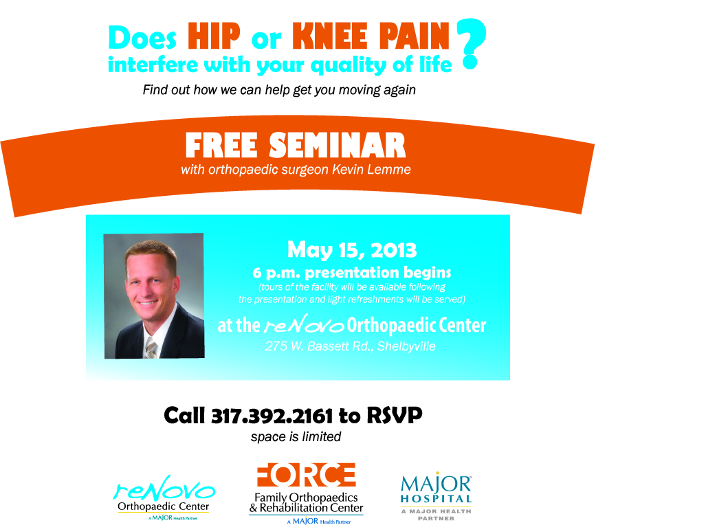 Free Hip and Knee Seminar