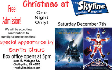 Christmas at the Skyline Drive-In