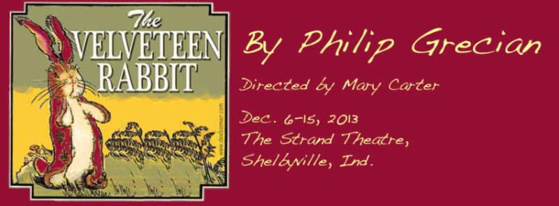 The Velveteen Rabbit Opens This Friday