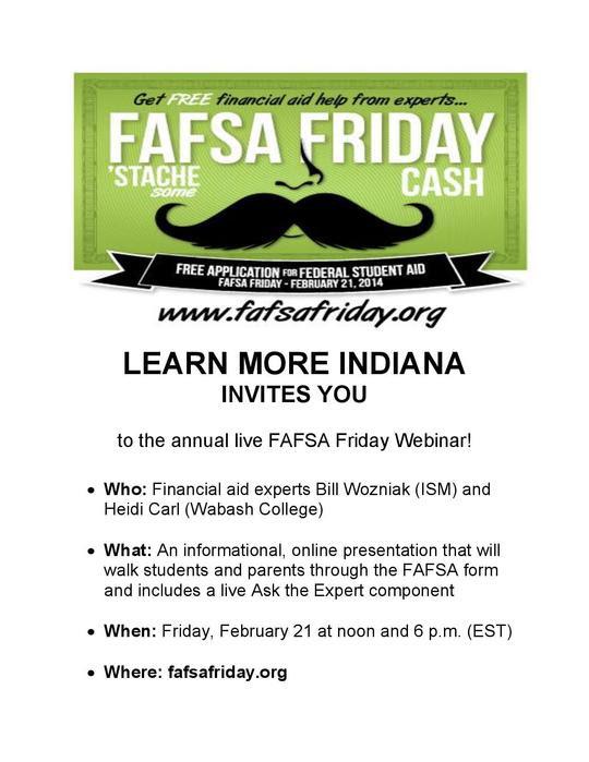 FAFSA Friday 2014 (Coming Soon)
