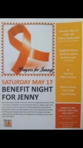 Spaghetti Dinner For Jenny Harness Smith