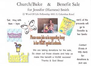 Bake and Rummage Sale Flyer