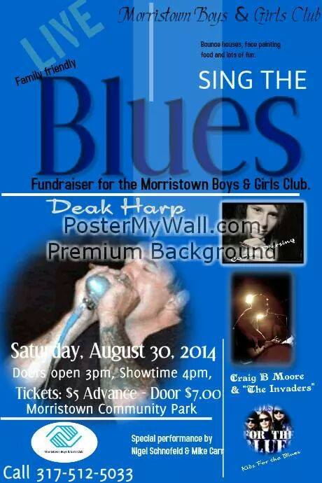 Sing the Blues Event @ Morristown Community Park | Morristown | Indiana | United States