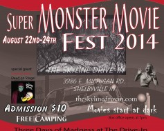 Super Monster Movie Fest at the Skyline @ The Skyline Drive-In | Shelbyville | Indiana | United States
