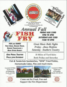 Marietta VFD Annual Fish Fry @ Marietta Volunteer Fire Department | Shelbyville | Indiana | United States