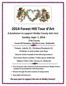 2014 Forest Hill Tour d'Art @ Forest Hill Cemetery | Shelbyville | Indiana | United States