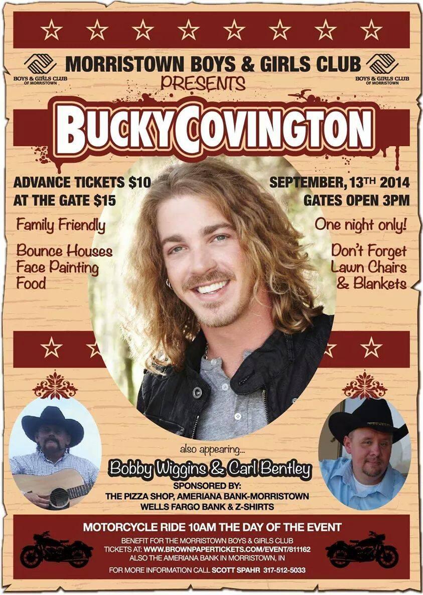 Bucky Covington in Morristown