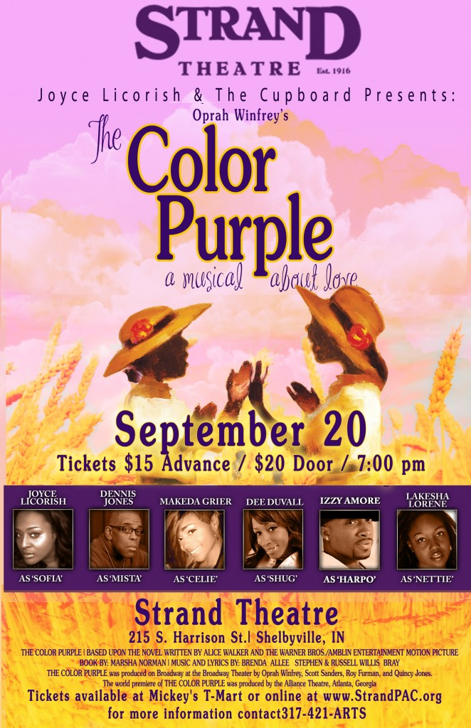 The Color Purple @ The Strand Theatre | Shelbyville | Indiana | United States