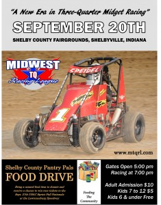 Midwest TQ Racing League Race (Supporting Pantry Pals)  @ Shelby County Fairgrounds | Shelbyville | Indiana | United States