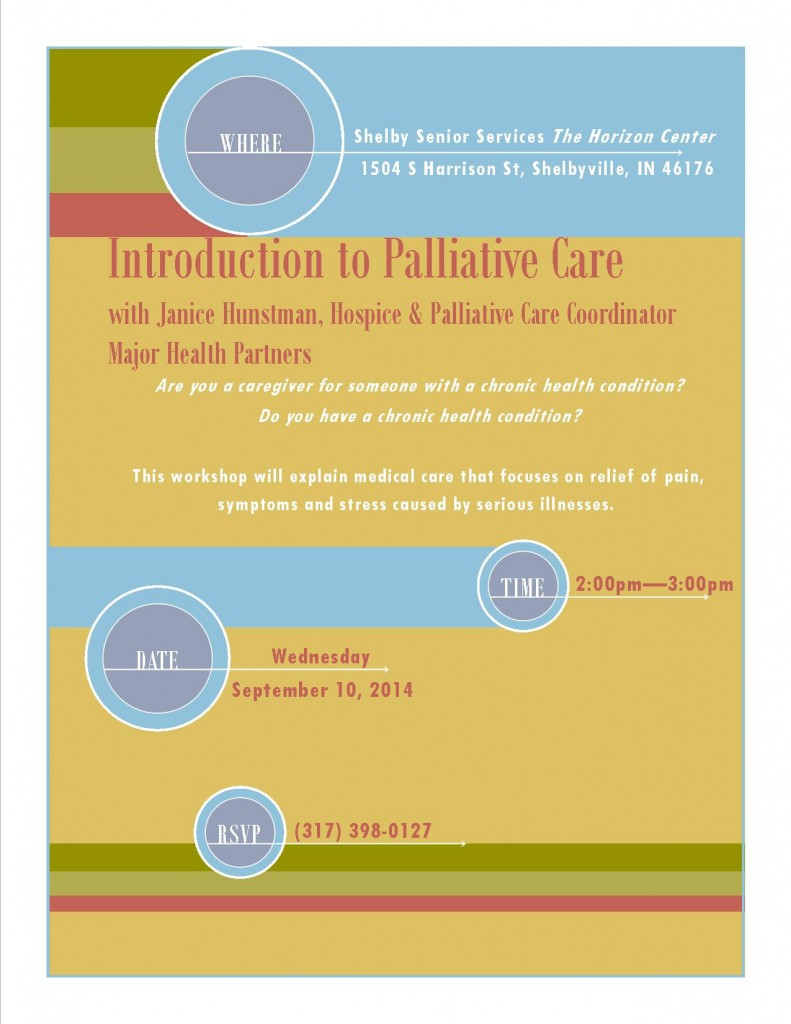 Palliative Care Presentation 9-10-14