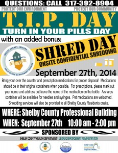 TIP/Shred Event @  Shelby County Professional Building | Shelbyville | Indiana | United States