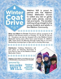 Waldron Winter Coat Drive @ Waldron | Indiana | United States