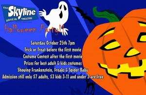 Skyline Halloween Party @ The Skyline Drive-In | Shelbyville | Indiana | United States