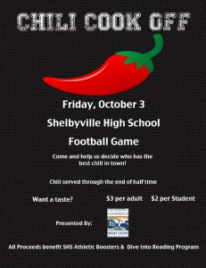 Shelby Chamber Chili Cook Off