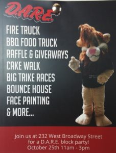 D.A.R.E. Block Party  @ 232 West Broadway Street  | Shelbyville | Indiana | United States