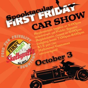 Spooktacular First Friday Car Show @ Downtown Shelbyville | Shelbyville | Indiana | United States