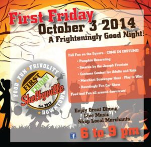 Spooktacular First Friday @ Downtown Shelbyville | Shelbyville | Indiana | United States