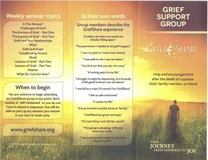 Grief Share Group @ Crossroad Community Church | Shelbyville | Indiana | United States