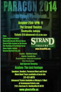 Paracon 2014 @ The Strand Theatre | Shelbyville | Indiana | United States