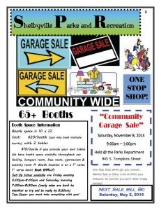 Community Garage Sale @ Shelbyville Parks Department   Shelbyville   Indiana   United States