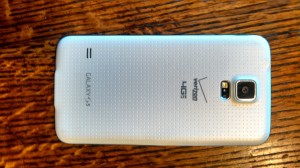 Samsung S5 Back View