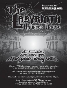 The Labyrinth Haunted House @ Waldron General Store | Waldron | Indiana | United States