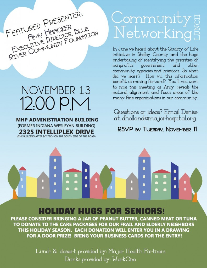 Community Networking Lunch - November