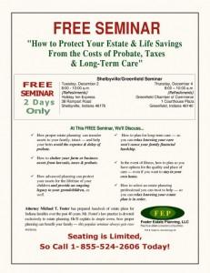 Estate Planning Seminar @ Shelbyville Holiday Inn Express   Shelbyville   Indiana   United States