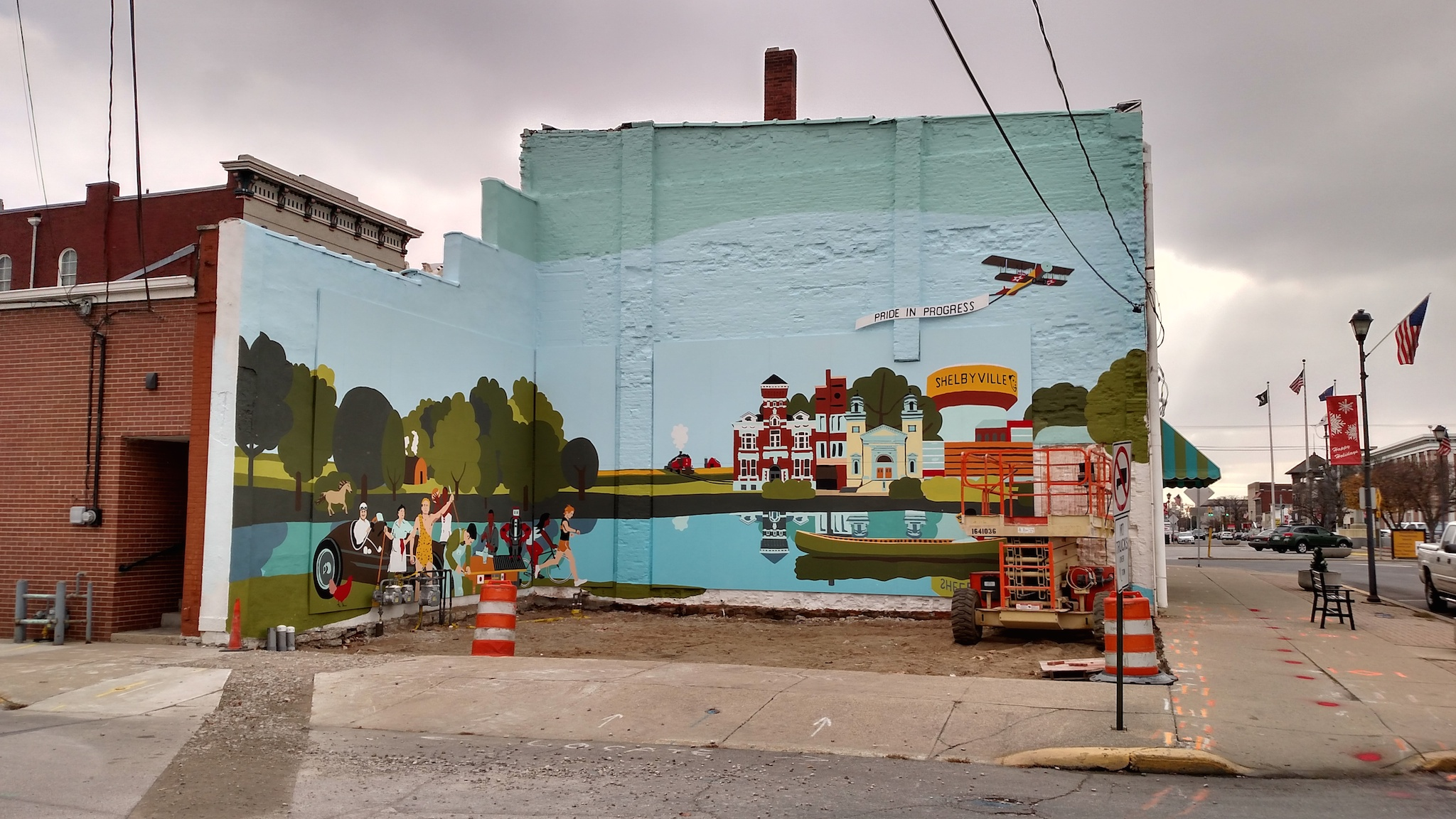 Shelby County Community Mural 2048