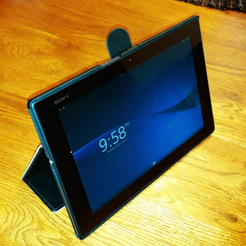 Sony's New and Powerful Z2 Tablet