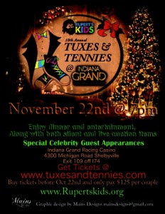 Rupert's Kids - 10th Annual Tuxes and Tennies @ Indiana Grand Racing & Casino | Shelbyville | Indiana | United States